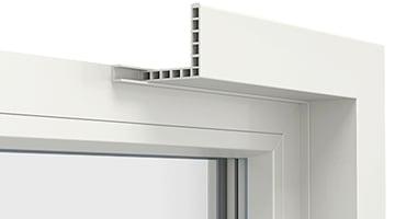 SillSystem ikkunan sisäpuolinen asennussysteemi nopeuttaa ikkunan asennusta